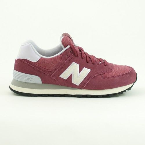 New Balance 574 Pelle Donna Burgundy - acquista su olaraga.com #newbalance  #shoes · ChaussureNouvel Équilibre ...