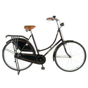 Hollandia Oma 28 Citi Bicycle (Black, 28 Inch) | Womens bike