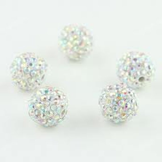 e7f5d236ec668 NEW 5 AB Crystal 12mm Swarovski Crystal Elements aka Pave Rhinestone ...