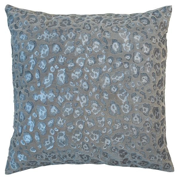GreenGate Cushion Cover Velvet Leo Warm Grey 50 x 50 cm | NEW! GreenGate Autumn/Winter 2014 | Originated-Shop