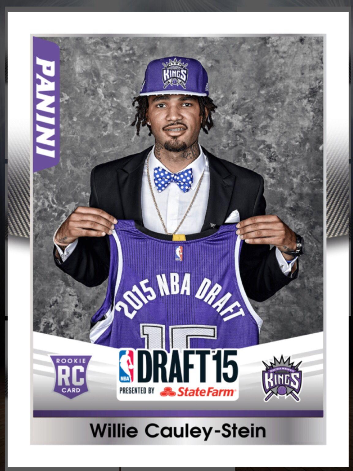 Willie CauleyStein (Rookie) Sacramento Kings Draft 2015