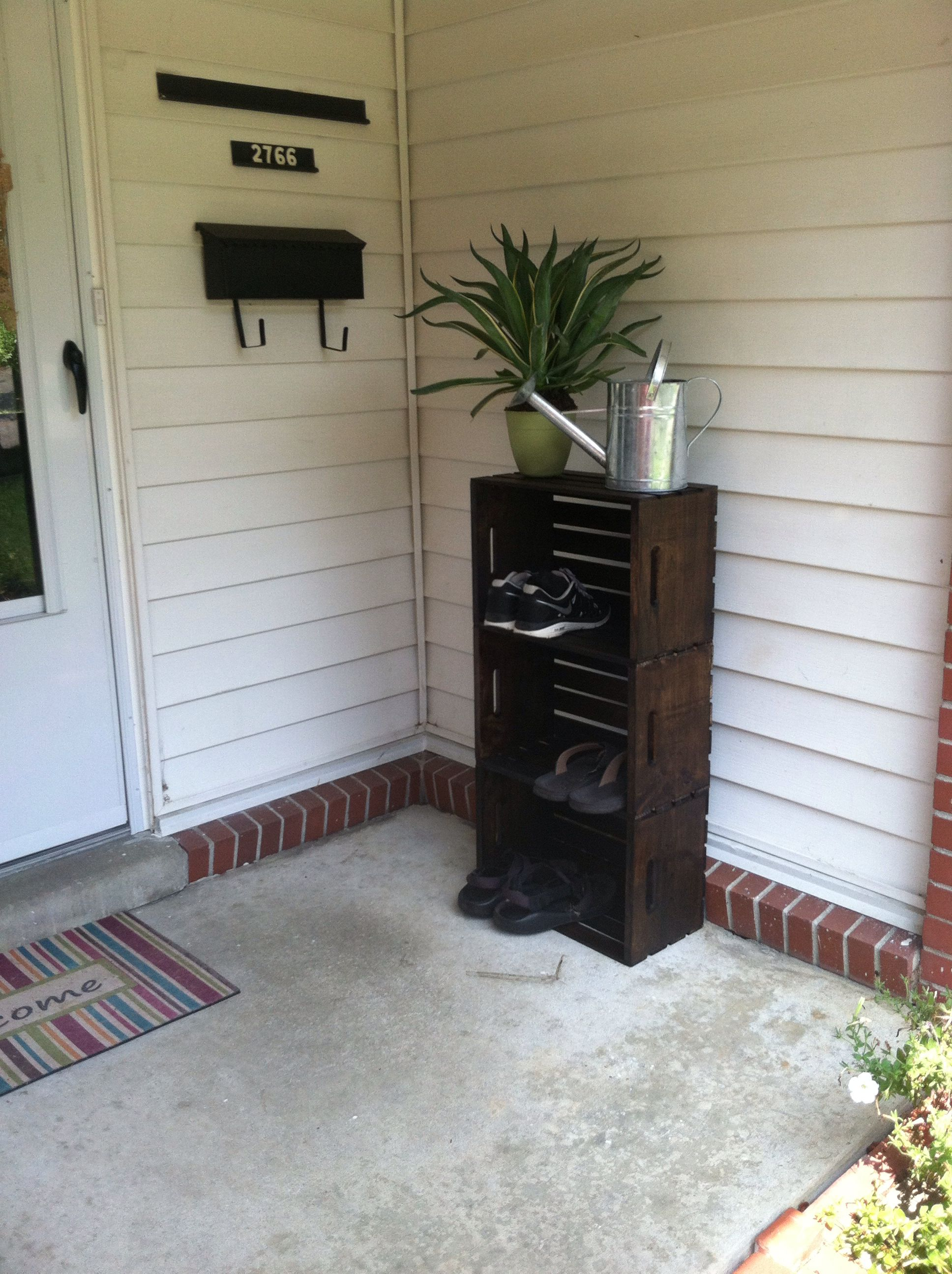 Outdoor Shoe Storage