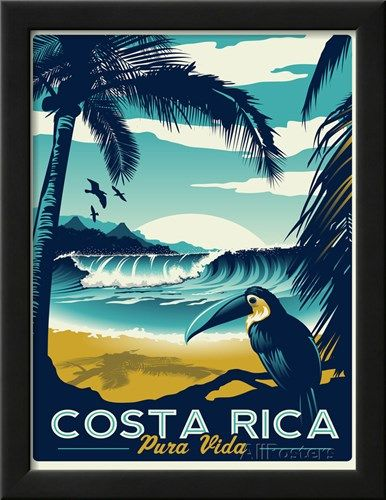 Costa Rica Posters by Matthew Schnepf at AllPosters.com