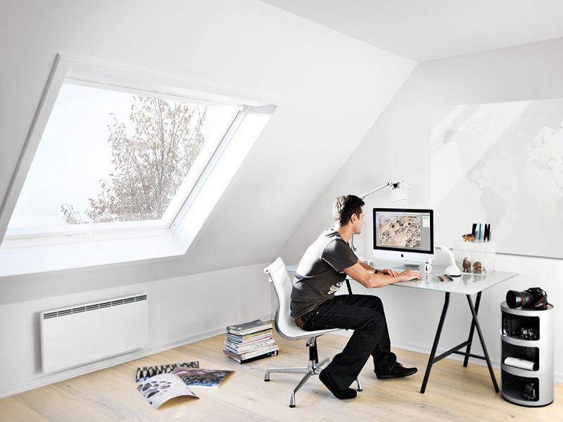 Dakramen zolder attic in 2018 pinterest attic attic office