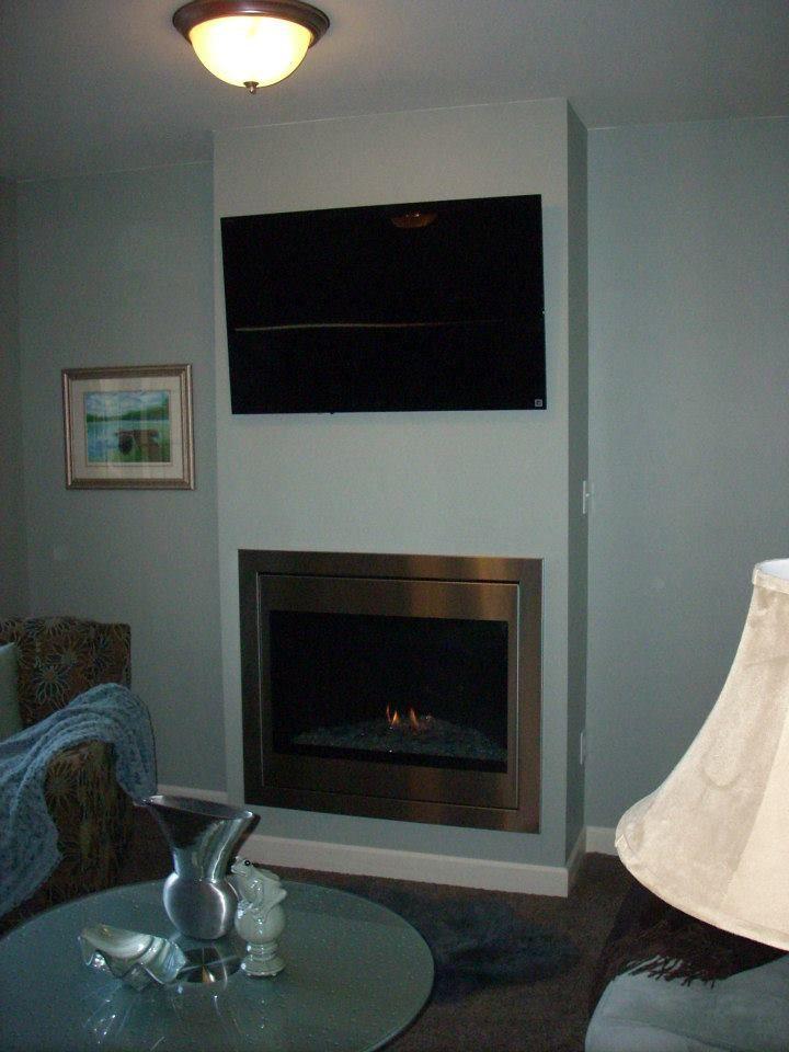 Novus Evolution fireplace by Heatilator Fireplaces
