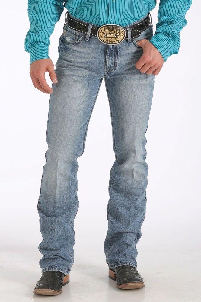 09a811e2aee CINCH JEANS MENS IAN Western Slim Rodeo Cowboy NWT 34 x 30 MB72336001-IND  #Cinch #Slimbootcut $49!!!