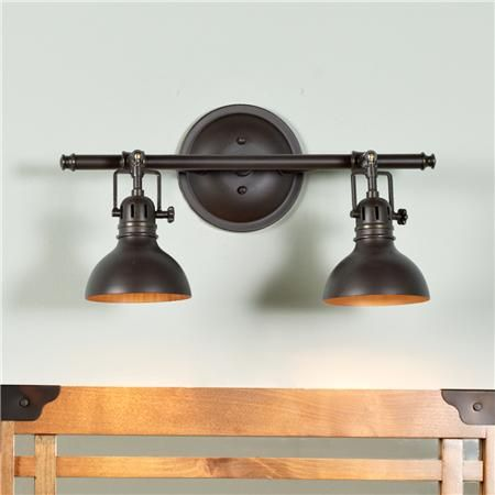 Pullman Bath Light  2 Light  Apartments Urban And Bath Light Beauteous Industrial Bathroom Light Fixtures Inspiration