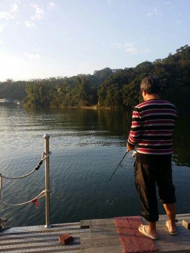 釣魚,也是休閒
