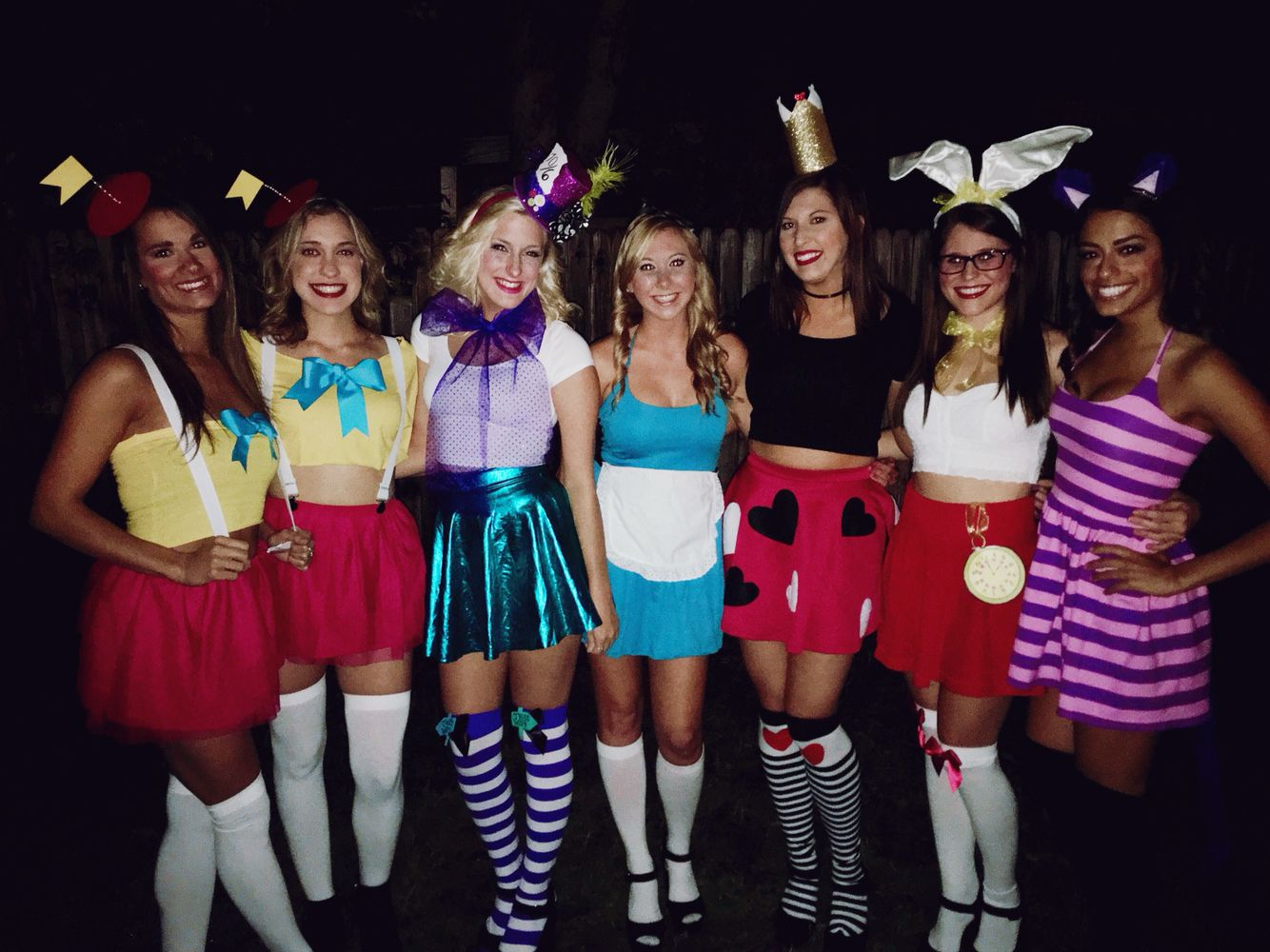 alice in wonderland group costume | holiday delights | pinterest