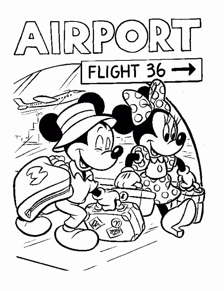 Disney World Coloring Pages For Kids In 2020 Disney Activities Mickey Mouse Coloring Pages Disney Coloring Pages