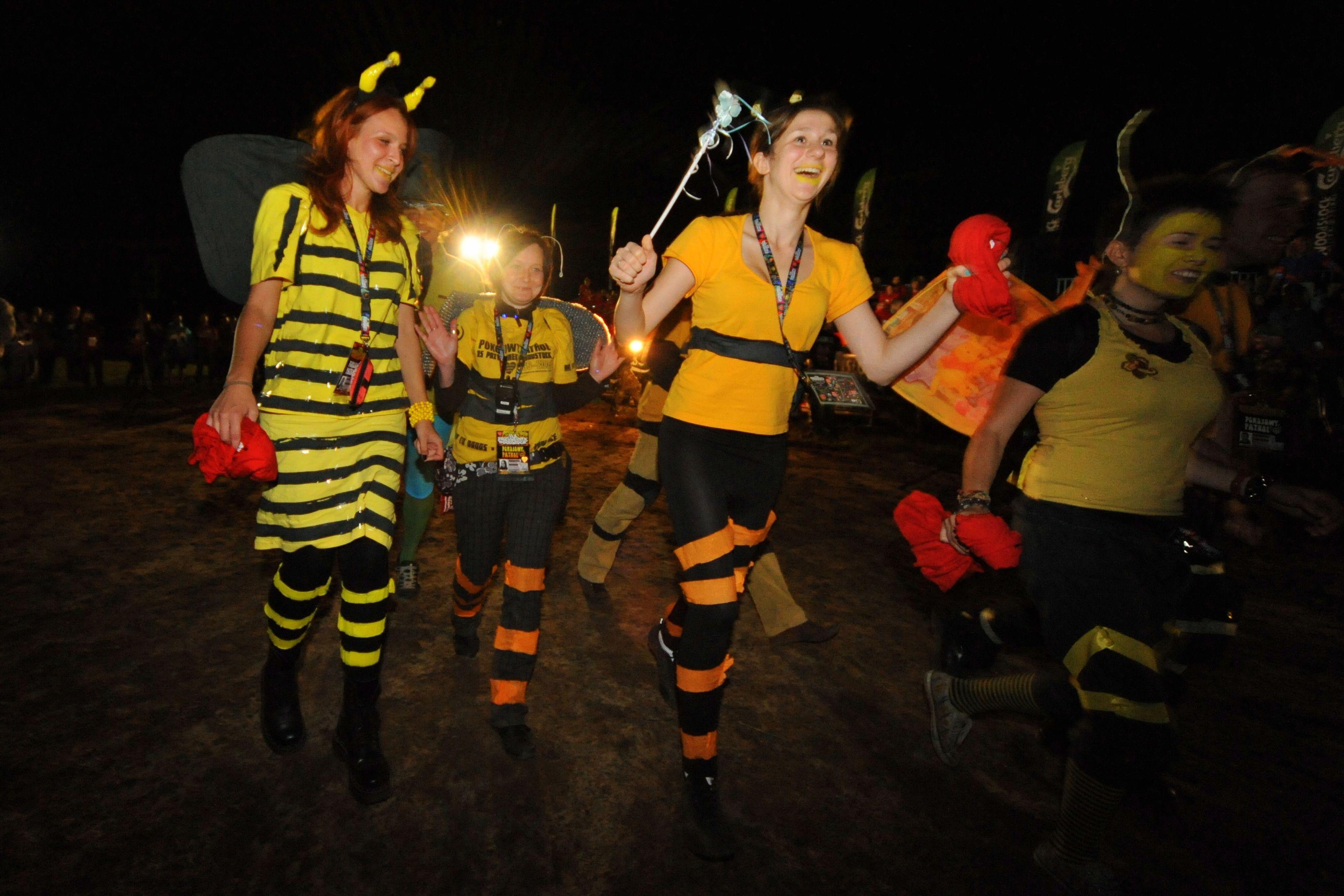 """Postacie z bajki """"Pszczółka Maja"""" chyba wszyscy rozpoznajemy? :) Fot. Arek Drygas"""