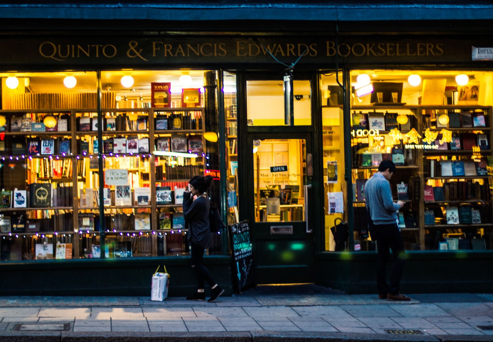 Quinto & Francis Edwards Bookstore | Flickr - Photo Sharing!