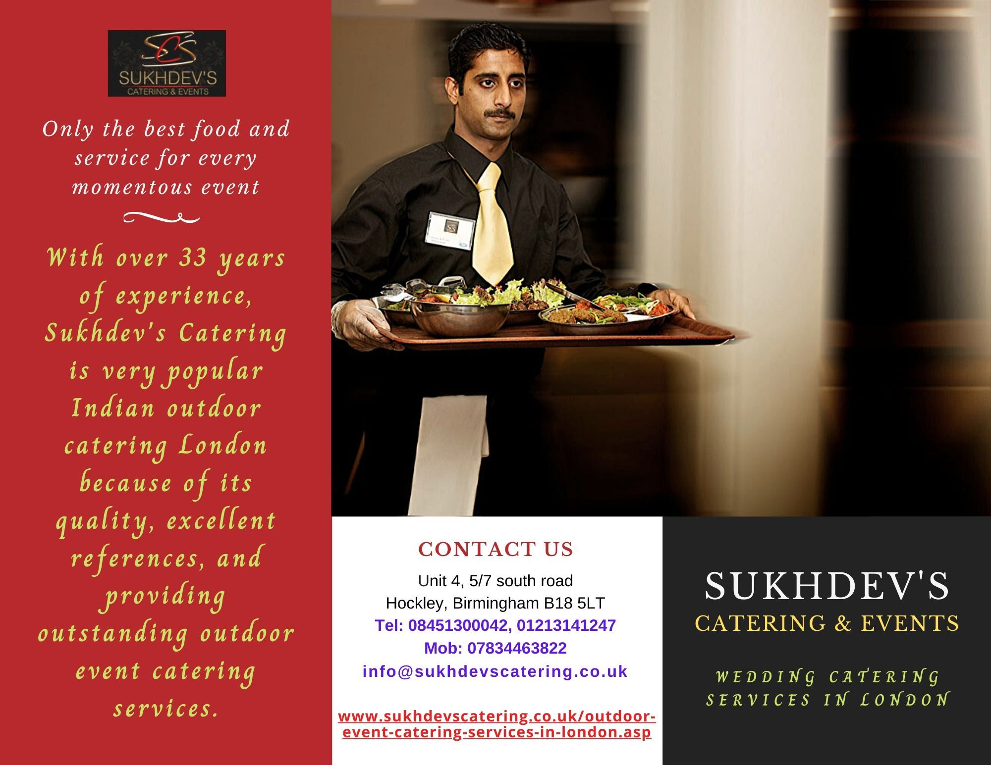 Look At Outdoor Catering Services In Birmingham