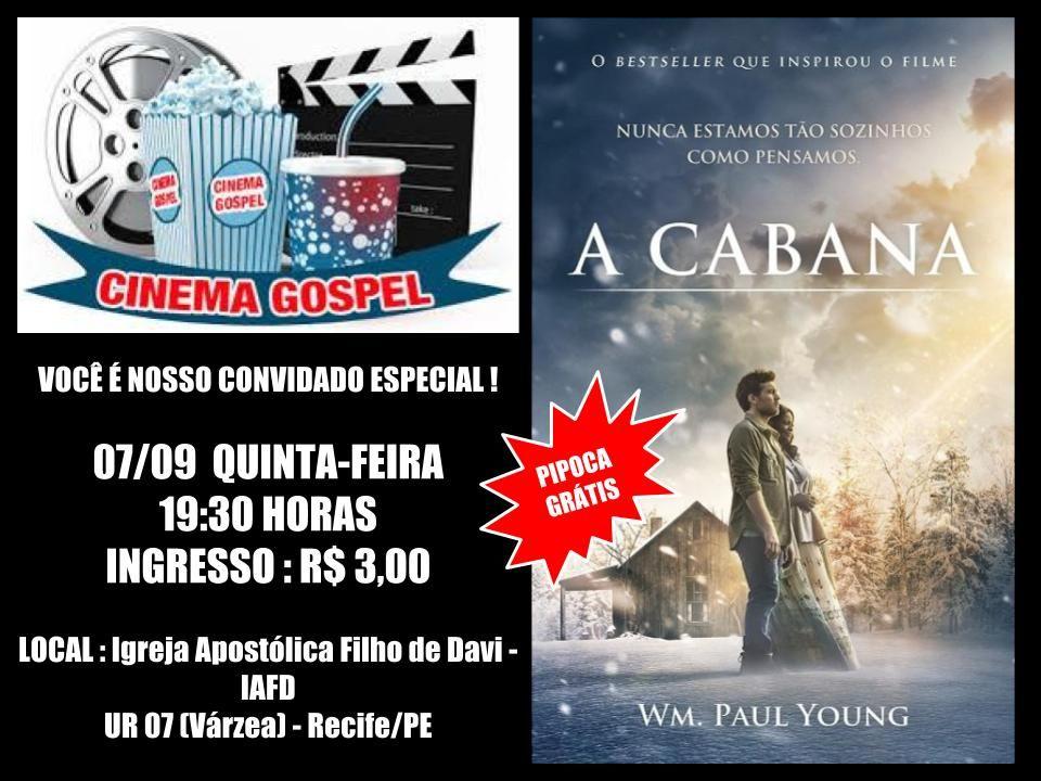 Convite Digital Para Cine Gospel Com Imagens Convites