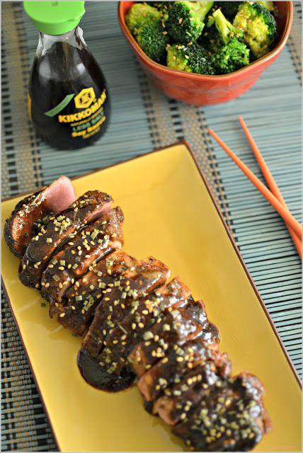 Sweet my Kitchen: Lombinho de porco ao estilo asiático