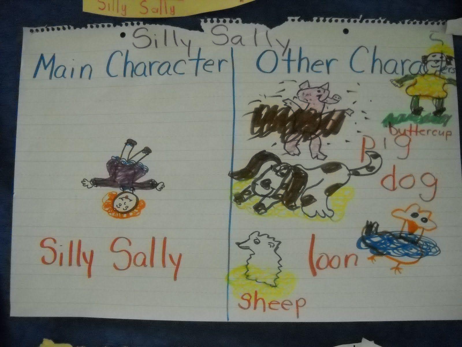 Silly Sally Printables