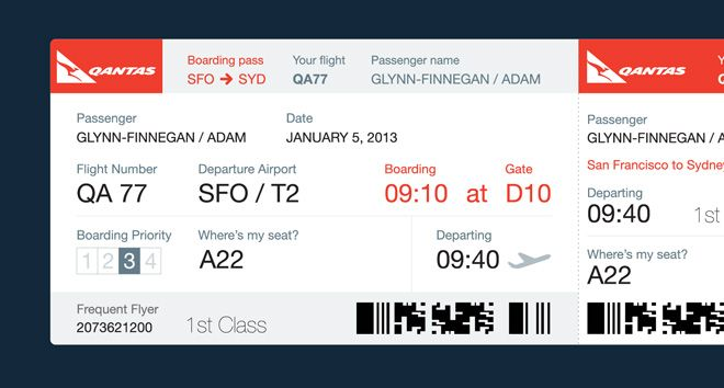 Dear Airlines This Is What Your Boarding Passes Should Look Like - plane ticket template