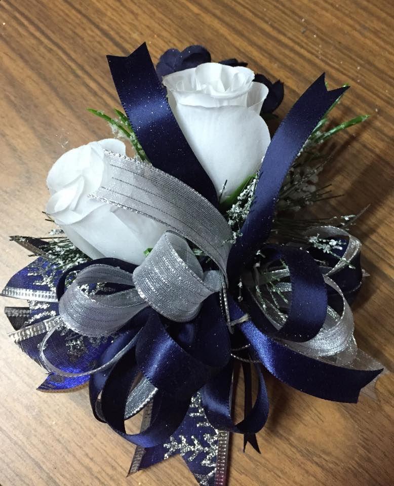 Blue Flower For Prom 92
