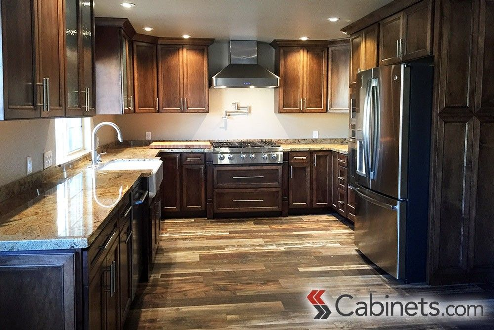 Espresso Stained Cabinets Have Just As Much Versatility As Their