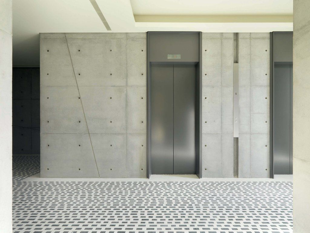 Typical elevator lobby work pinterest elevator for Elevator designs