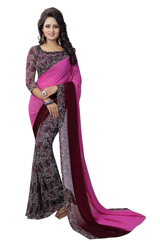 47978ddce0 Buy Online Designer Georgette Saree At Best Price in India. #saree  #sareefashion #sareeblouse #sareesonline