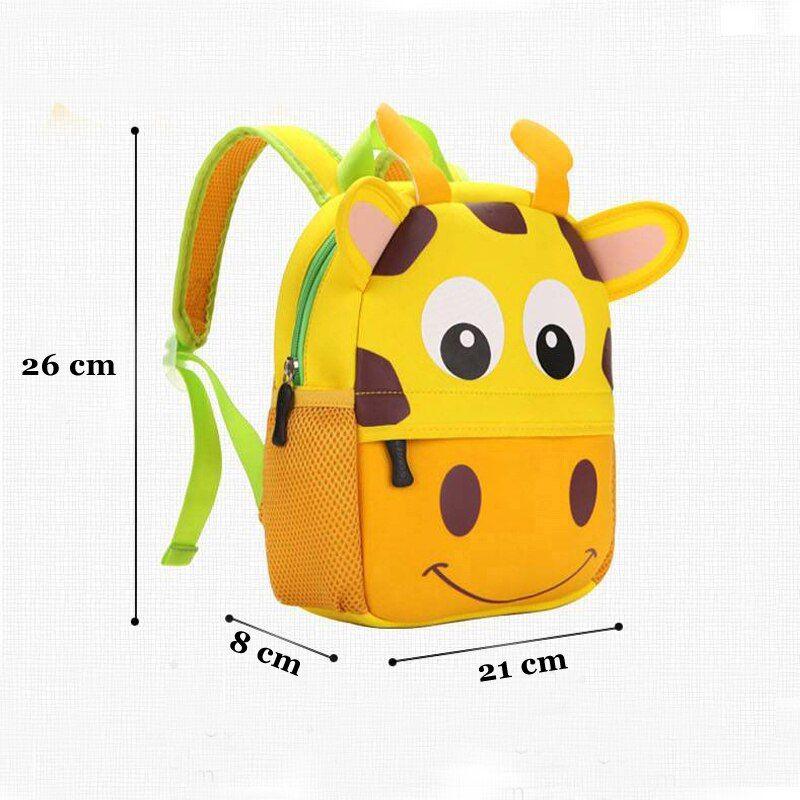 2020 New 3D Cartoon Bag School Animal Children Backpacks Design Girl Boys Kids