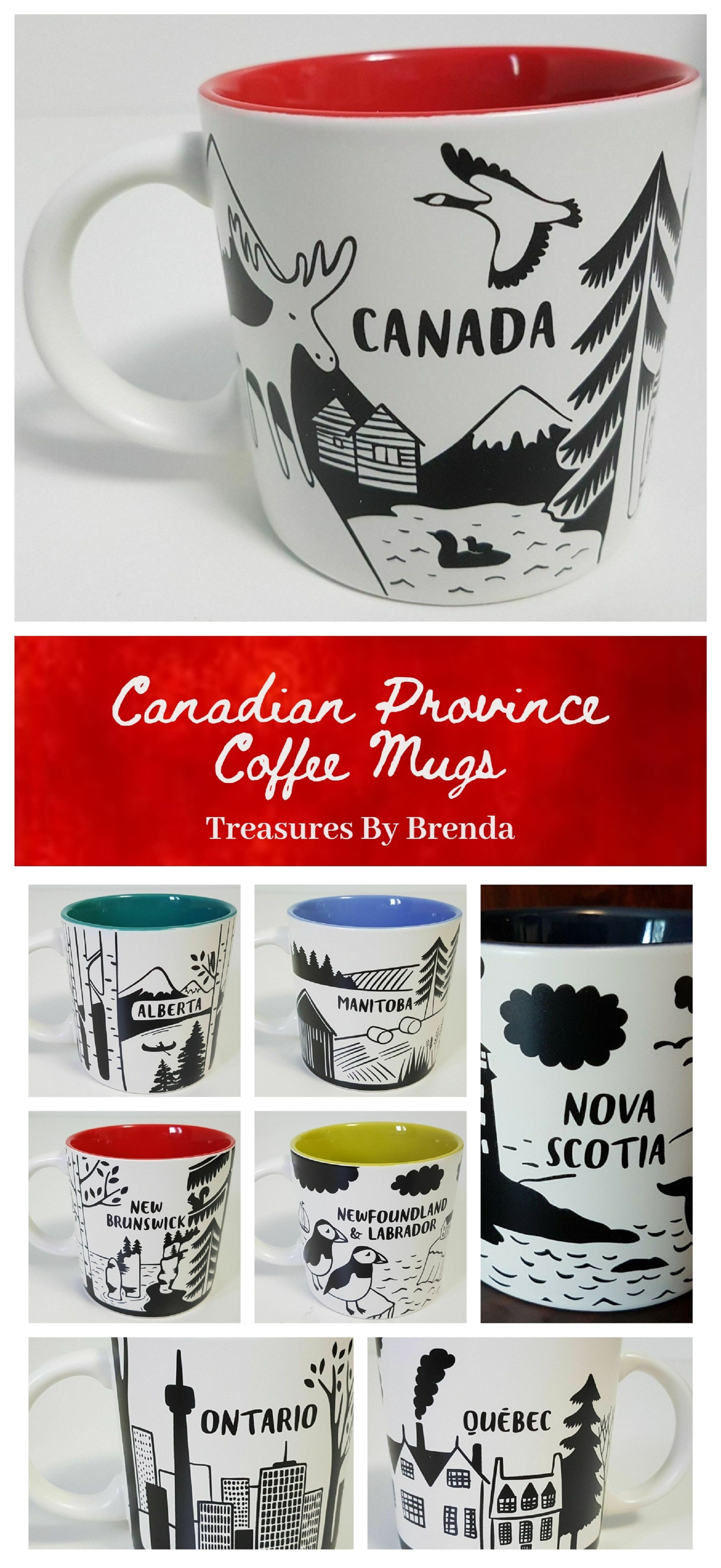 Canadian Province Coffee Mugs Celebrate your favorite