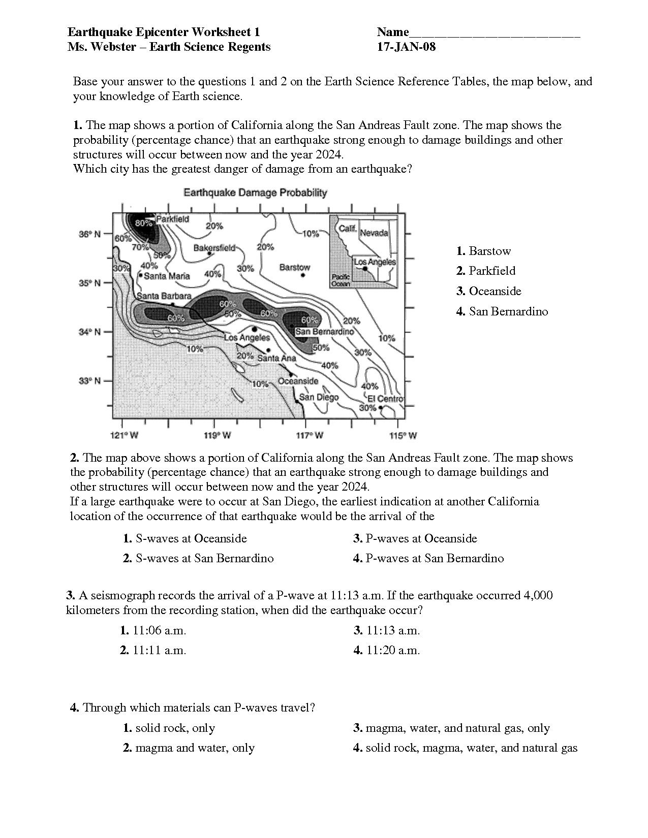 Weather Worksheets for Middle School in 2020   Close reading lessons [ 1650 x 1275 Pixel ]