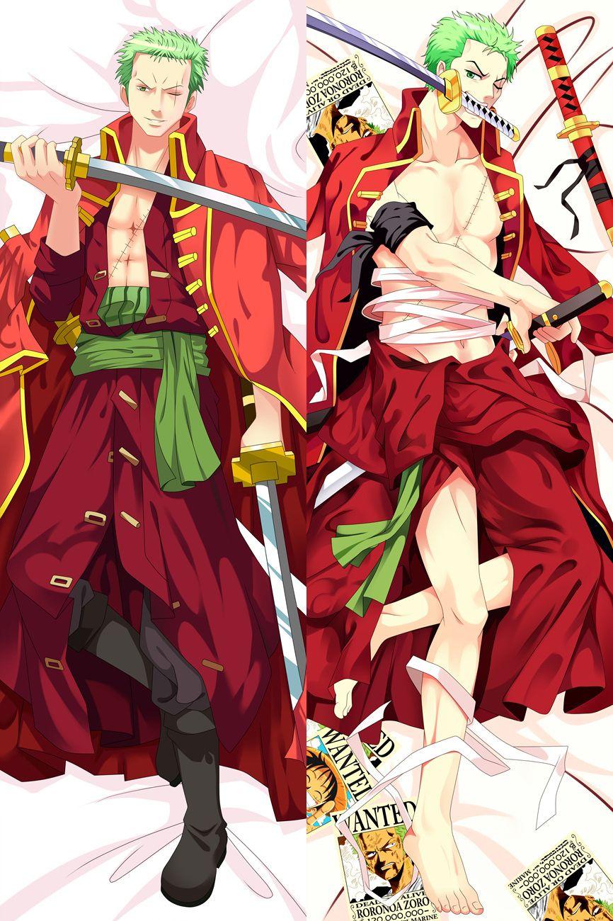 BL Japan Anime One Piece Roronoa Zoro Hugging Body Male