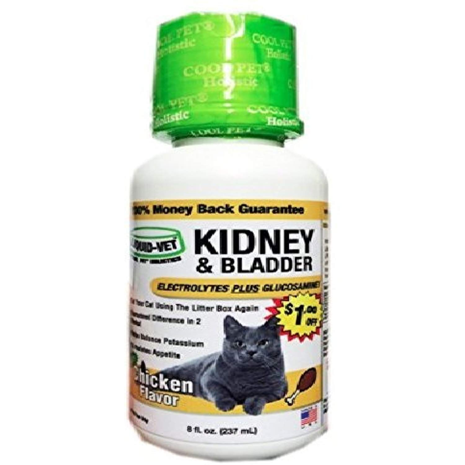 LiquidVet Cat Kidney and Bladder Formula – Fast Acting