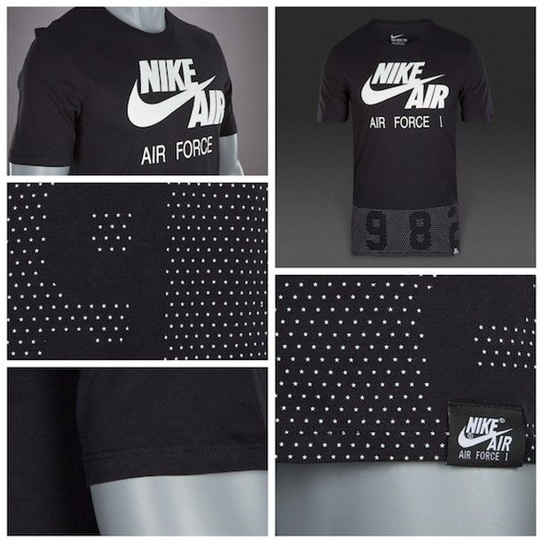 check out 8e146 e8331 Nike Sportswear Since 1982 Tee - Black   White قیمت  تومان کد محصول  استعلام  موجودی و ثبت سفارش با کد محصول در تلگرام