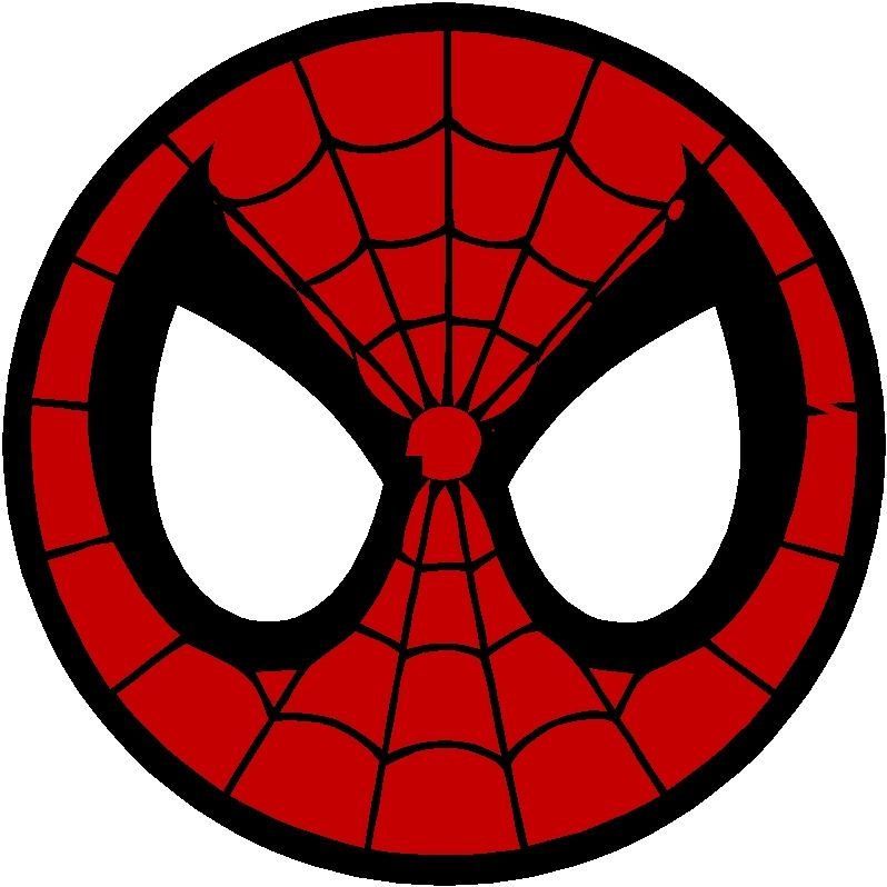 spiderman printable logo superhero party pinterest logos rh pinterest com Spider-Man Face Logo Superhero Mask Cut Out