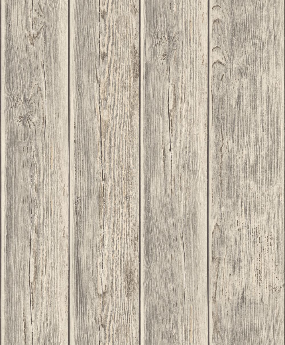 Vintage Panelling Grey Wallpaper By Albany Wood Effect Wallpaper