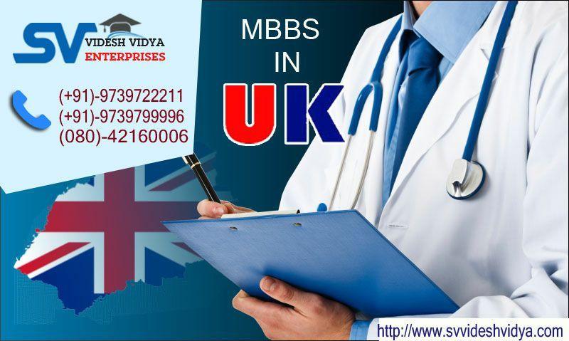 Study MBBS in United Kingdom (UK) Contact SV Videsh Vidya