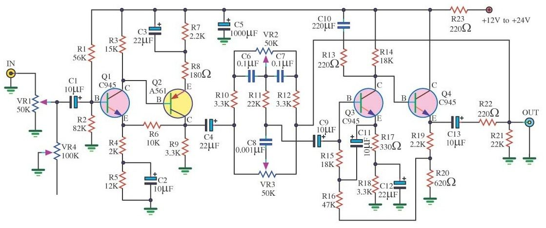 Make a Complete Power Amplifier for Home | Audio