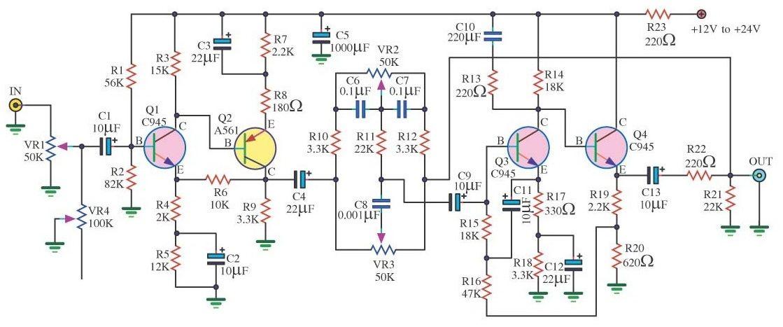Make a complete power amplifier for home circuit diagram circuit diagram ccuart Images