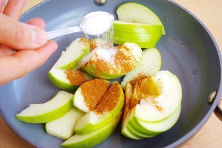 Tarçınlı Elma Dilimleri   Diyet Listesi   Zayıflama Yöntemleri