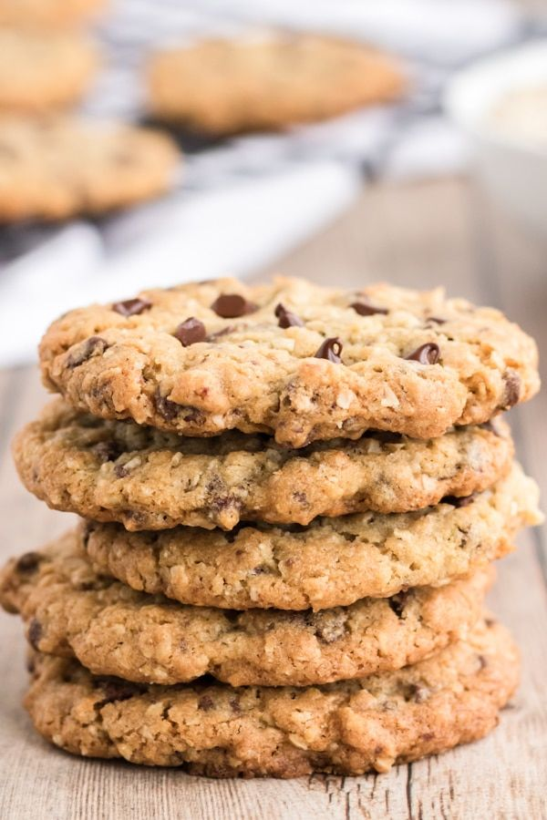 The Best Oatmeal Chocolate Chip Cookies An Italian In My Kitche In 2020 Chocolate Chip Walnut Cookies Oatmeal Chocolate Chip Cookie Recipe Oat Chocolate Chip Cookies