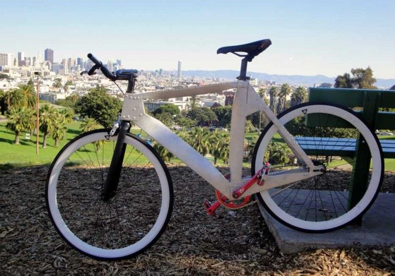 Your Next Bike Could Be Made From Folded Sheet Metal Bicycle