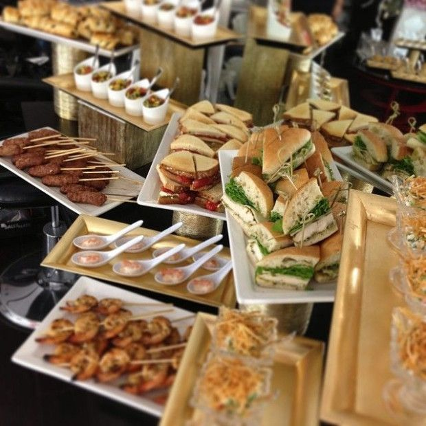 Best Food To Have At A Wedding: - 153 Best Buffet Table Setup