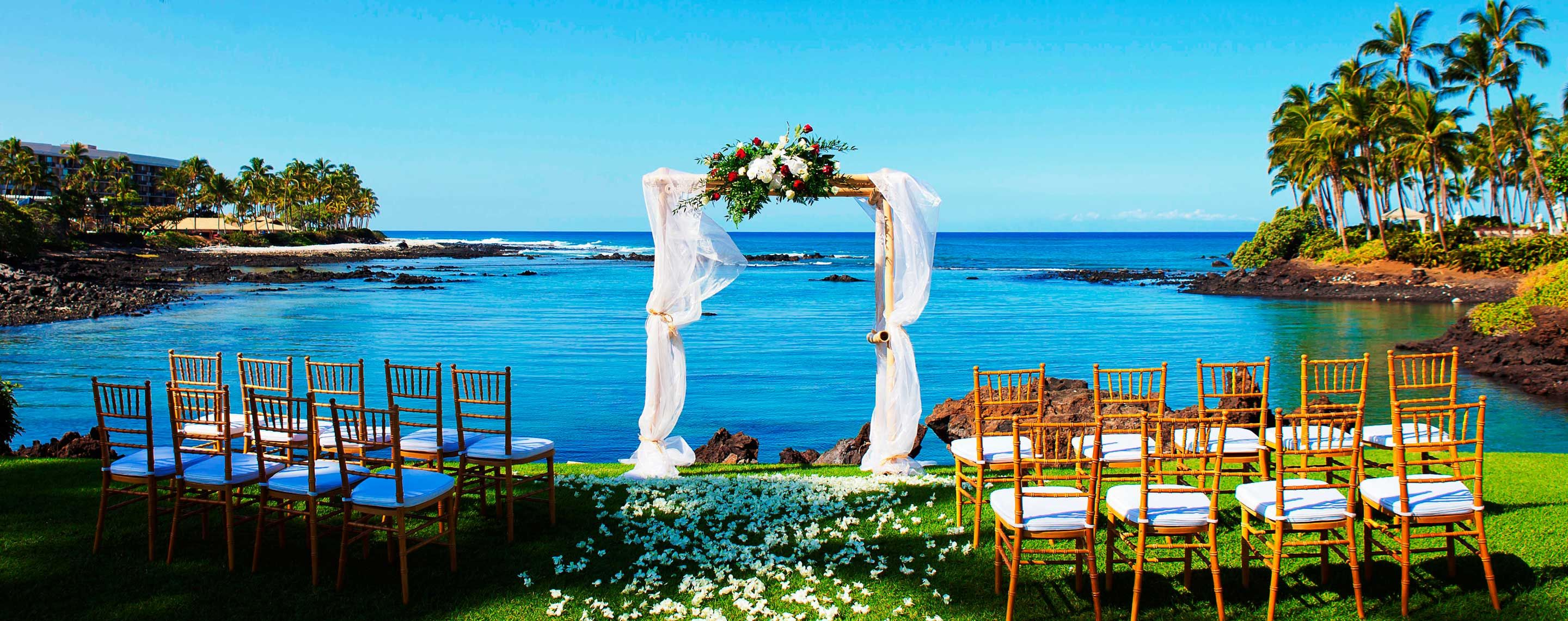 Weddings in big island hawaii hilton waikoloa village hotel discover the perfect setting for romantic escapes weddings honeymoons and more at hilton waikoloa village learn more about our hawaii wedding packages junglespirit Images