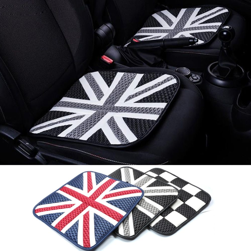 2pcs Ice Silk Car Seat Cushions Mat Pad Covers For Mini Cooper Jcw One S Countryman Paceman R60 R61 R55 R56 F55 F56 Car Car Seat Cushion Mini Cooper Car Seats