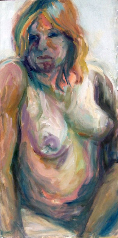 On ebay right now - My Sensuous, Original Painting Nude, Life Study Art Signed by Artist C. Taibbi