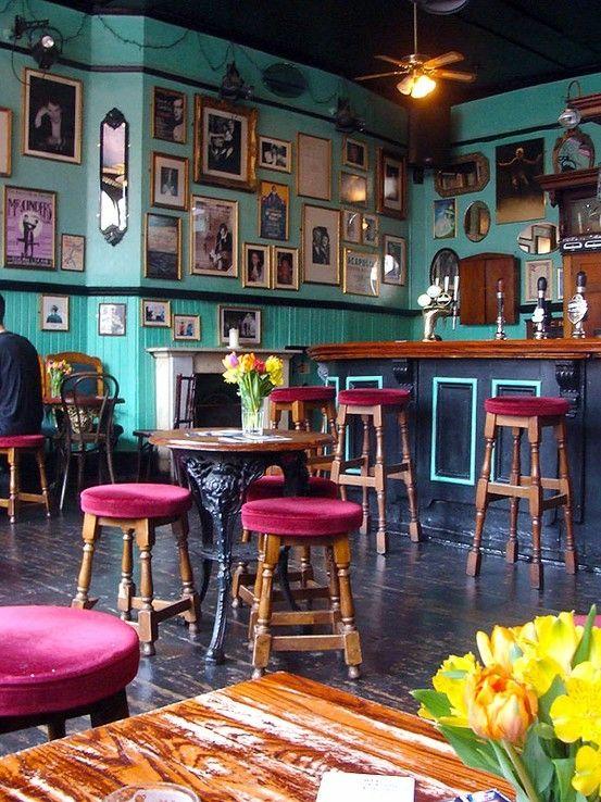 Shabby Pub Chic Cafeterias Vintage Diseño De Cafetería Ideas De Cafetería