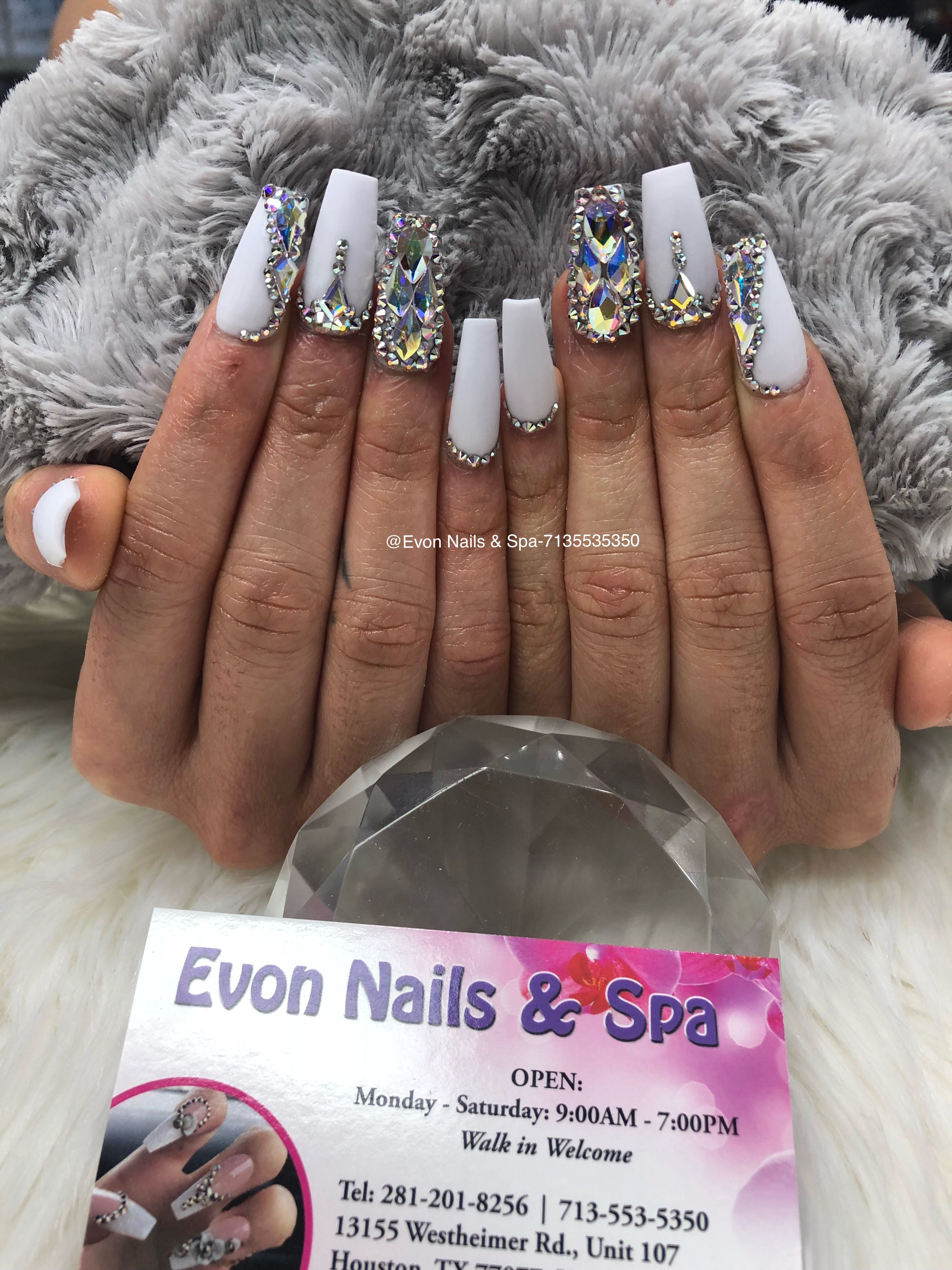 Pin By Evon Nails Spa On Evon Nails Spa Nail Art Ombre