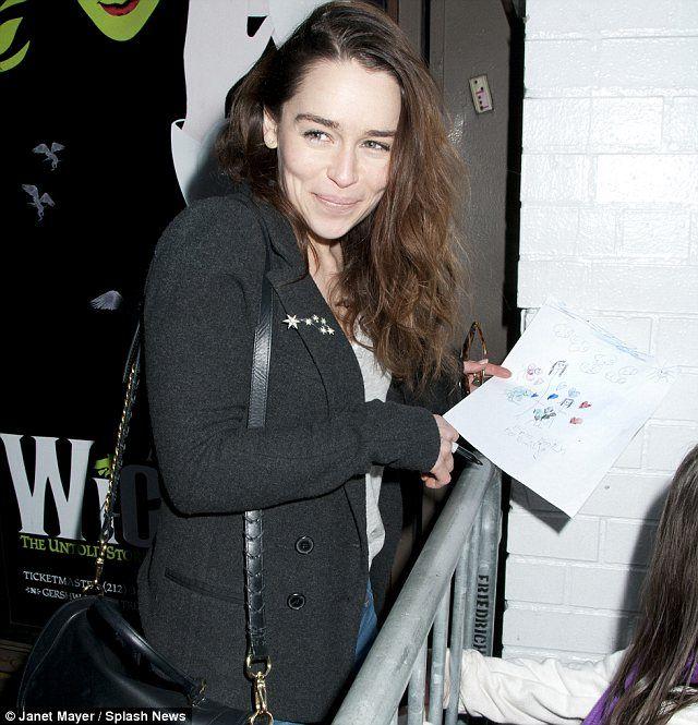 Emilia Clarke photo session