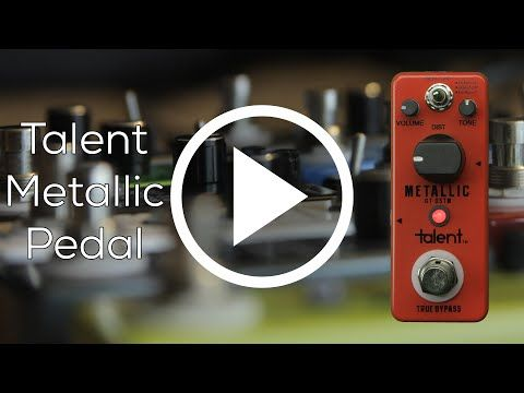 Talent Metallic Pedal - YouTube