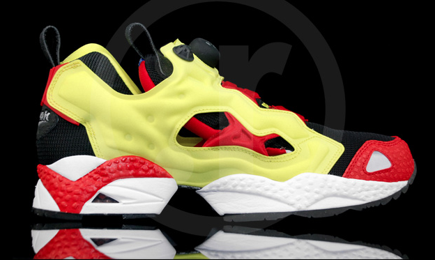promo code d8a9c 31dc0 Reebok Insta Pump Fury Jackie Chan OG 2012 Firecracker Red Yellow