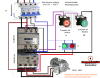 Control Three Phase Motor Starter With Start Stop Buttons With