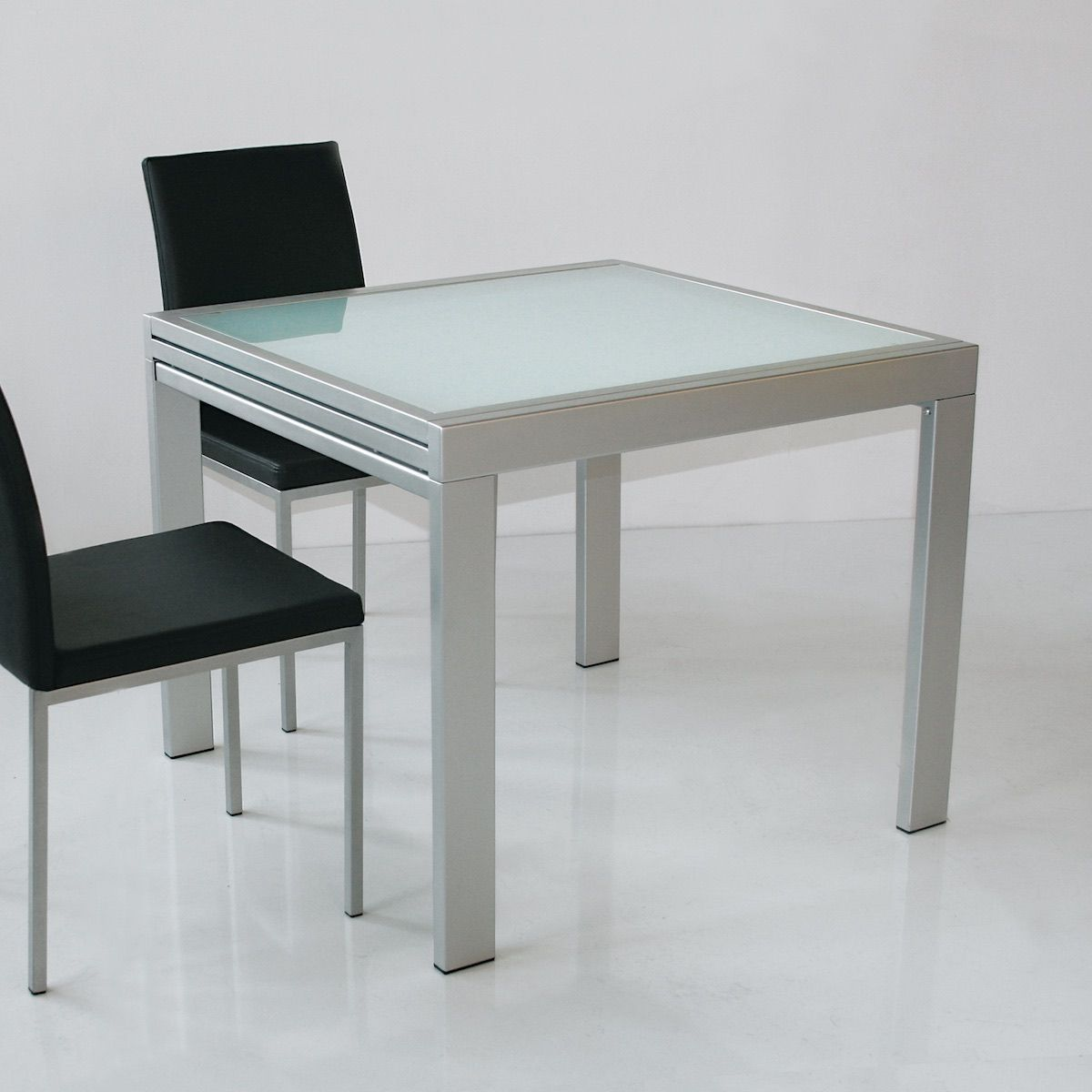 Tavolo quadrato allungabile design moderno Conrado (con